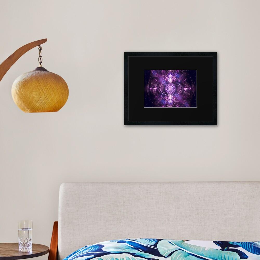 Light Show - Grand Julian Fractal Art Print Framed Art Print