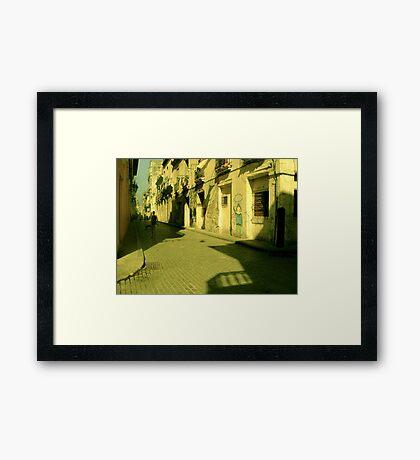 Turning a new corner... Framed Print