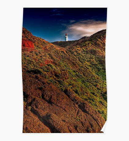 Cape Schanck Lighthouse by Day Poster