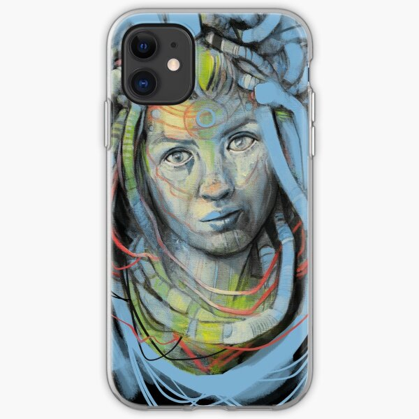 Cyber Lady - Sci-fi iPhone Soft Case