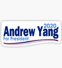 Andrew Yang for President 2020 Sticker