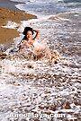 Ange Maya as Mermaid pushing out from Ocean by ANGE MAYA