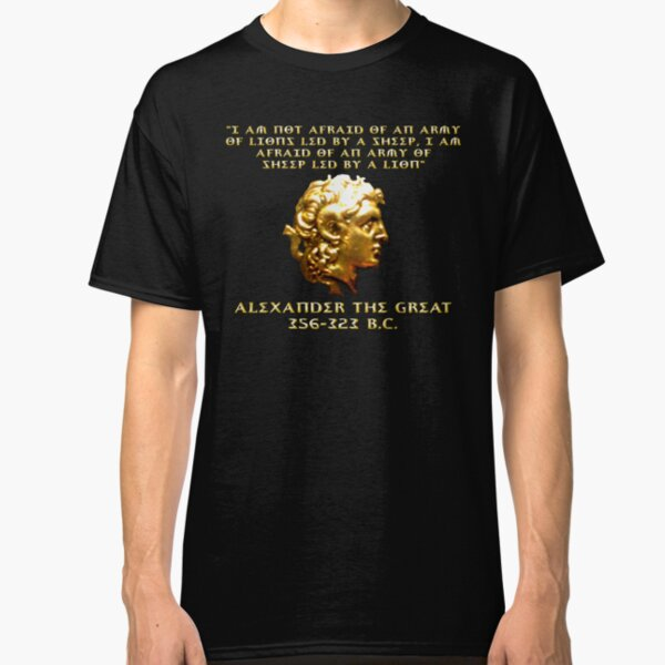 Alexander the Great Classic T-Shirt