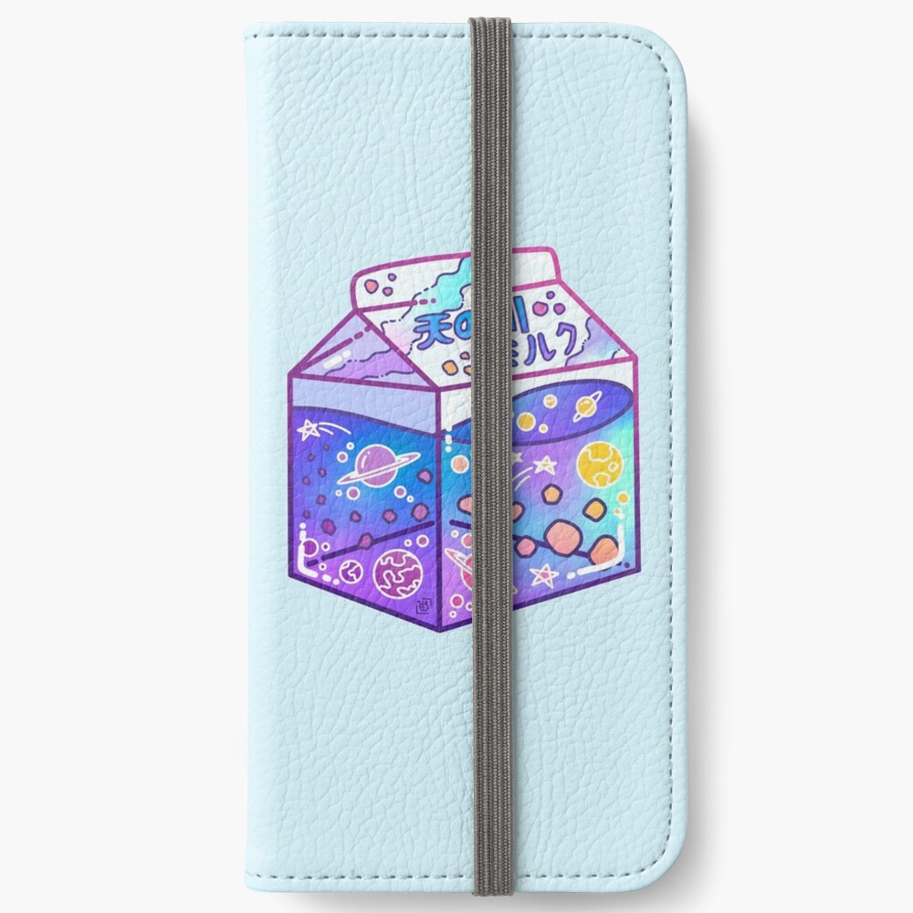 Milky Way Milk Carton iPhone Wallet