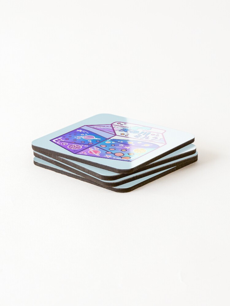 Alternate view of Milky Way Milk Carton Coasters (Set of 4)