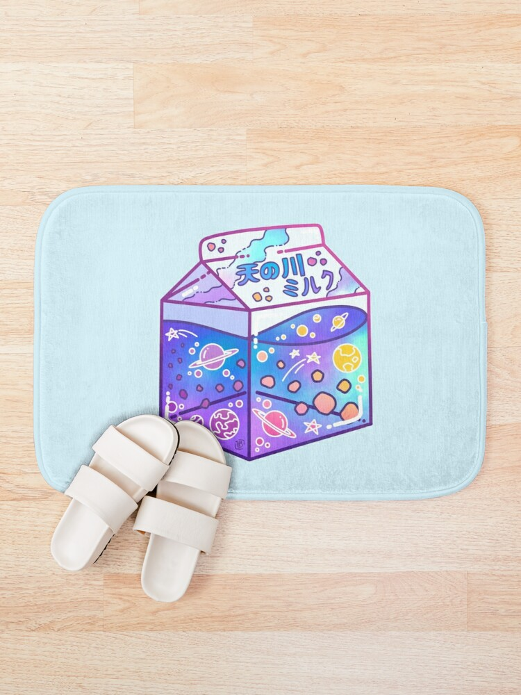 Alternate view of Milky Way Milk Carton Bath Mat
