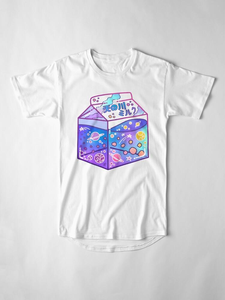 Alternate view of Milky Way Milk Carton Long T-Shirt