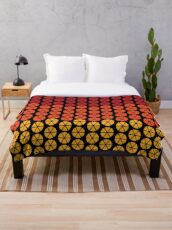 Alex DeLarge Bed Dubet Cover in A Clockwork Orange Throw Blanket