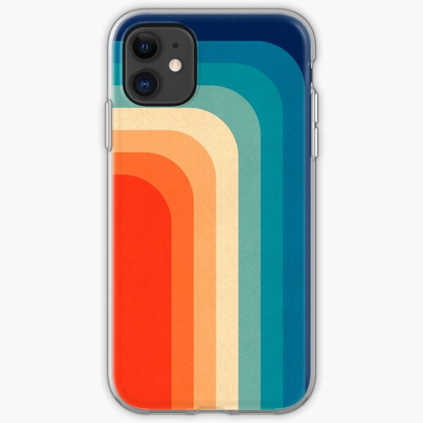 Retro 70s Color Palette III iPhone Soft Case