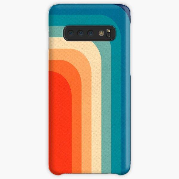Retro 70er Jahre Farbpalette III Samsung Galaxy Leichte Hülle