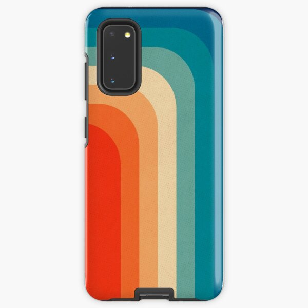 Retro 70s Color Palette III Samsung Galaxy Tough Case