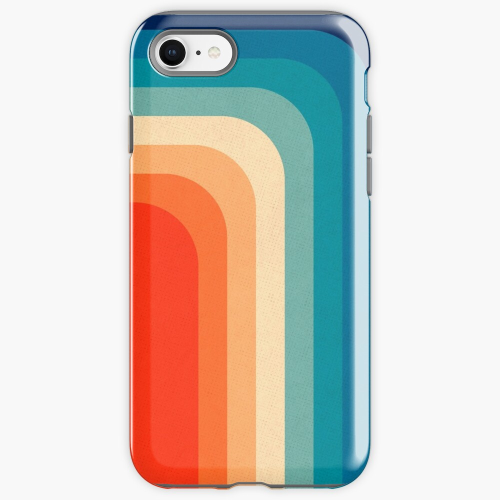 Retro 70s Color Palette III iPhone Case & Cover