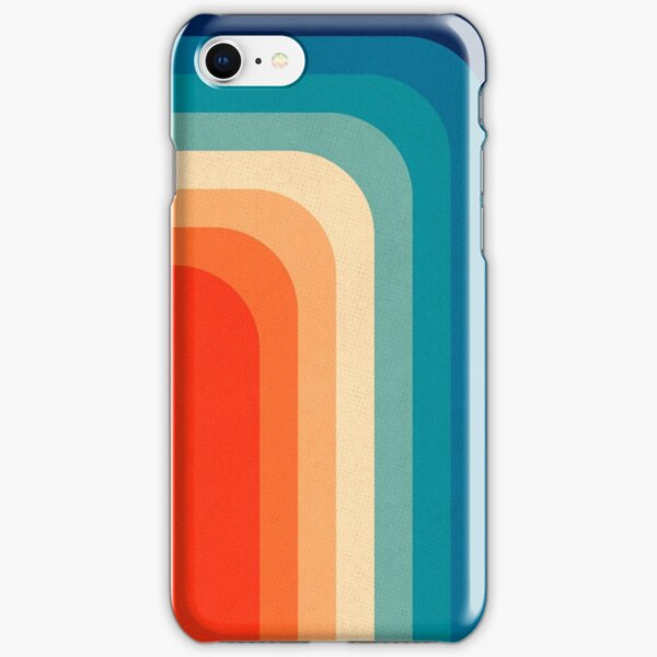 Retro 70s Color Palette III iPhone Snap Case