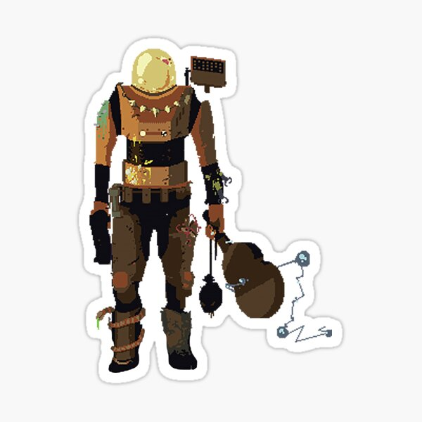 Risk Of Rain Merchandise - Commando Sticker