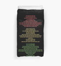 Lift Every Voice Duvet Cover
