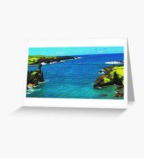 Blacksand Beach Greeting Card