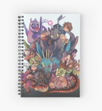 How to train your dragon Spiral Notebook