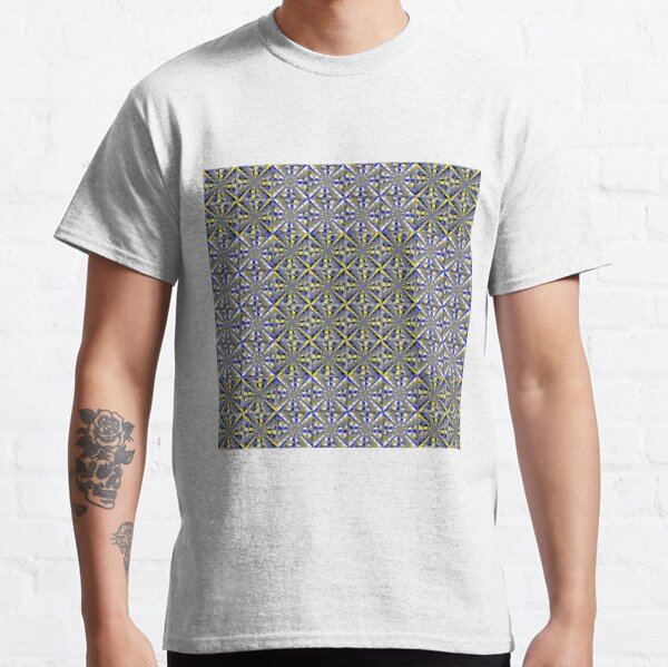 Visual Illusion #VisualIllusion Optical #OpticalIllusion #percept #reality Image Apparent Motion Classic T-Shirt