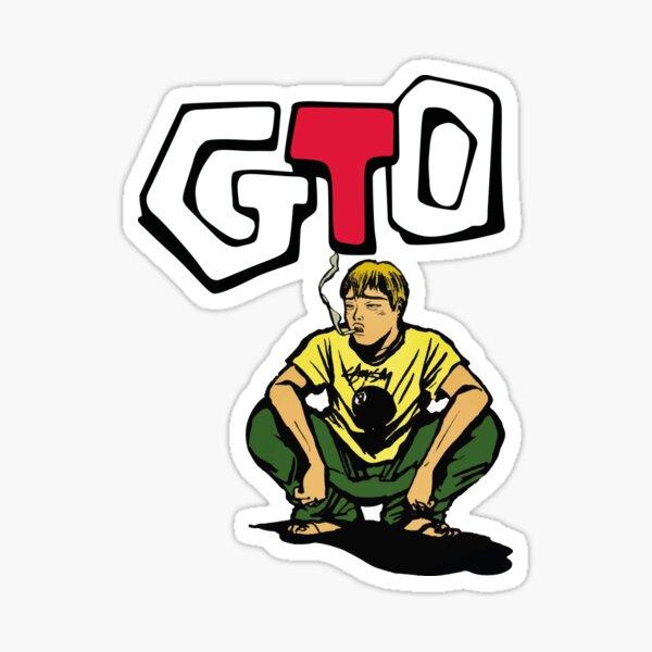 GTO illistration Sticker