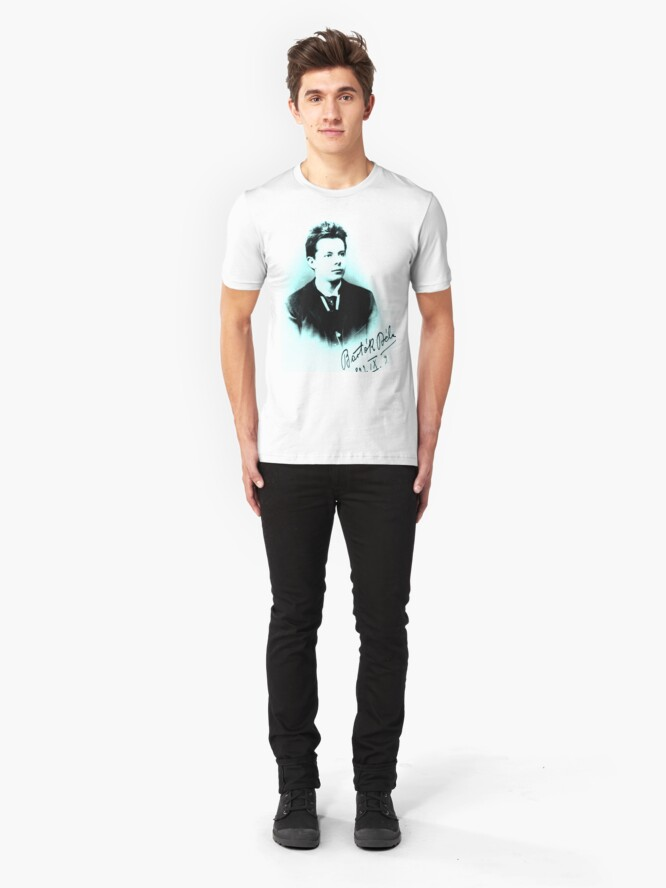 Alternate view of Bela Bartok - Brilliant Composer - High School Photo Slim Fit T-Shirt
