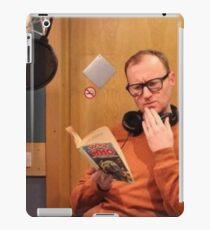 mark gatiss reading iPad Case/Skin