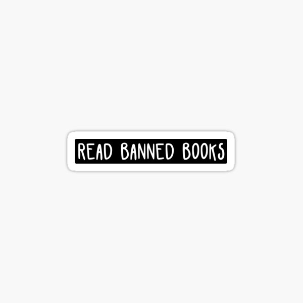 Read Banned Books Sticker