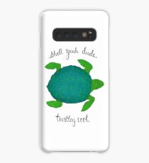 Turtle Pun Case/Skin for Samsung Galaxy