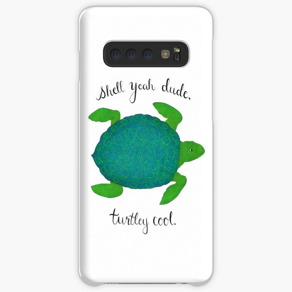 Turtle Pun Samsung Galaxy Snap Case