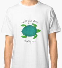 Turtle Pun Classic T-Shirt