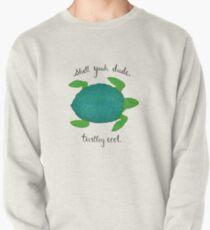 Turtle Pun Pullover Sweatshirt