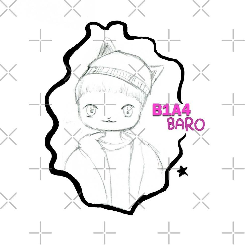 "B1A4 ~ Baro ""Acapella"" by liajung"