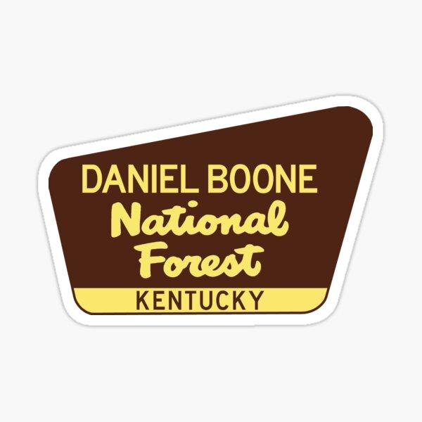 Daniel Boone National Forest Kentucky Sticker