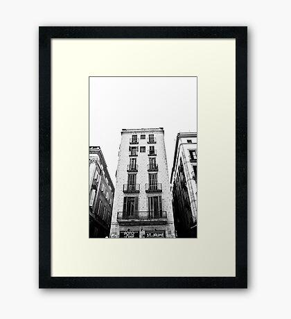 Barcelona 04 Framed Print