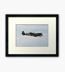 Spitfire fighter plane Framed Print