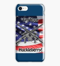 American Flag with Guns iPhone Case/Skin