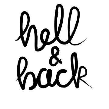 Hell & Back (black) by kat-sheppard