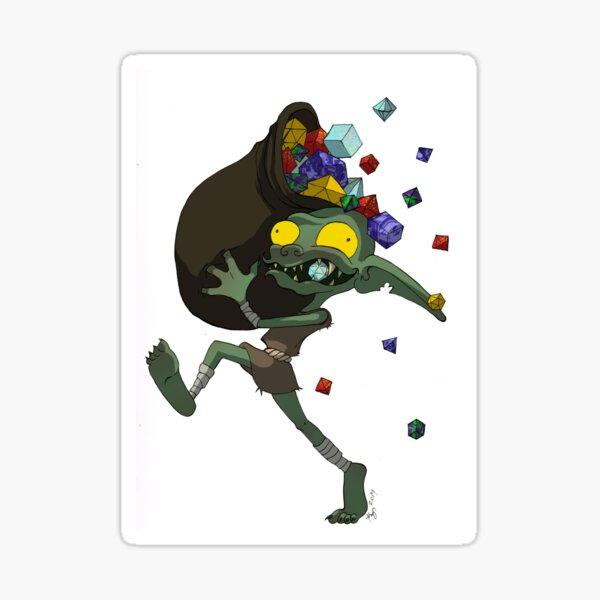 Dice Goblin Sticker