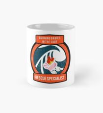 Burning Babies in the Surf Rescue Specialist Classic Mug