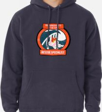 Burning Babies in the Surf Rescue Specialist Pullover Hoodie