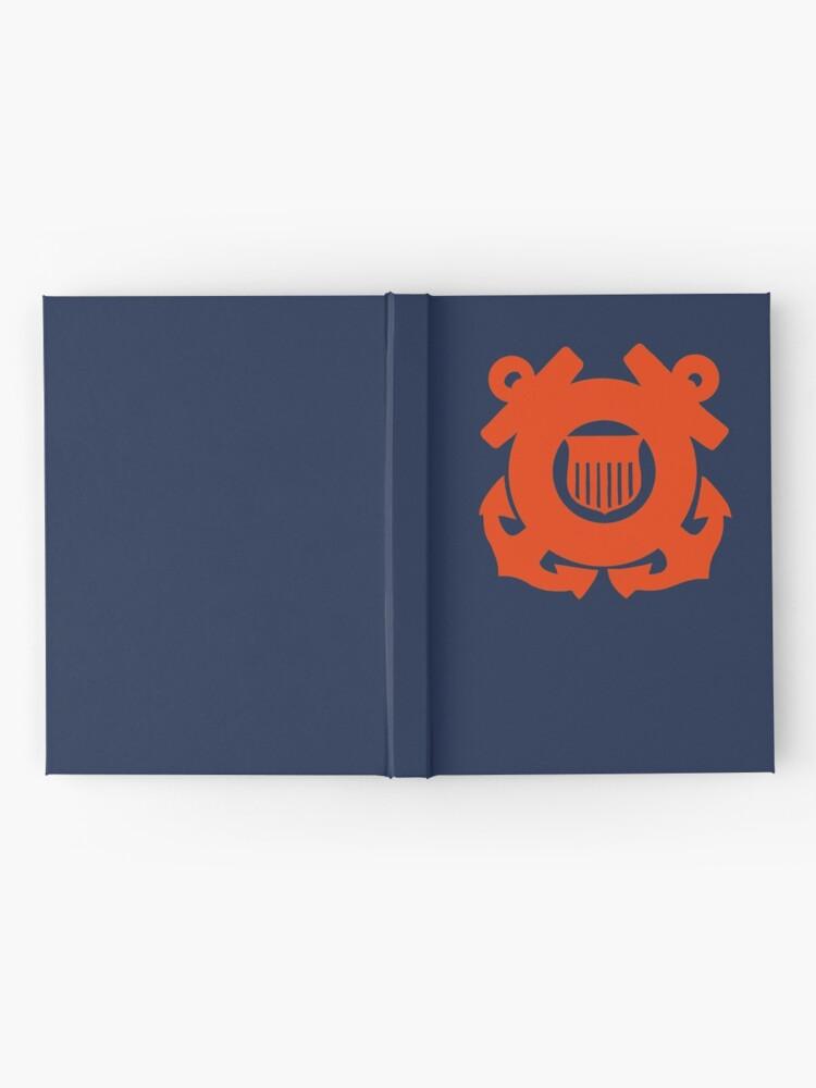 Alternate view of CG Shield - International Orange  Hardcover Journal