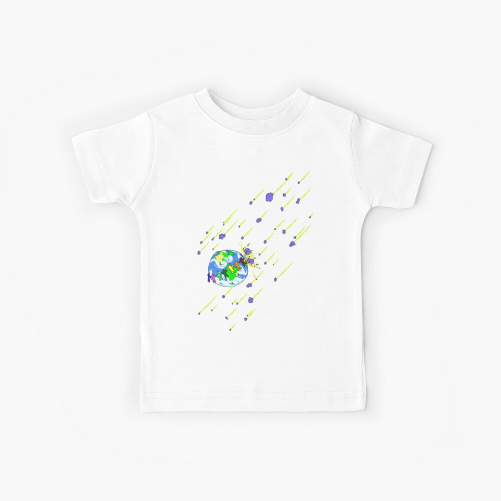 Protect Our Home from Asteroids Kids T-Shirt