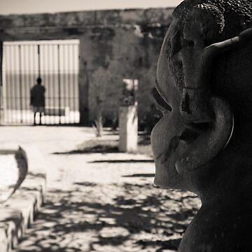 Slavery Memorial Garden (IlhaMoç) by babatim