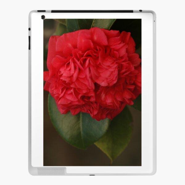 Red Gardenia iPad Skin