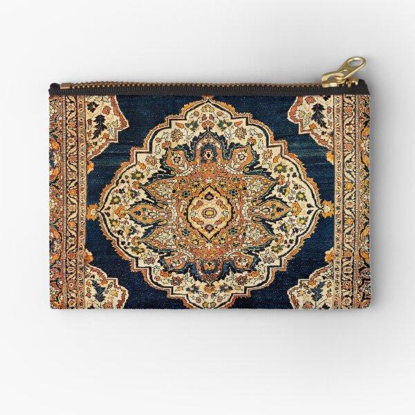Tabriz Azerbaijan Northwest Persian Rug Print  Zipper Pouch