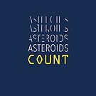 Asteroids Count by Emma Bresola