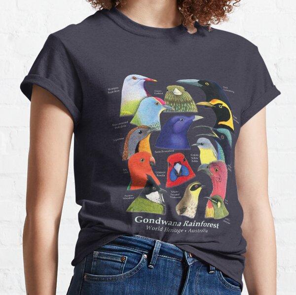 Gondwana Rainforest Birds of Australia - Raising funds for BirdLife Australia Classic T-Shirt