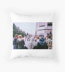 Shopping Throw Pillow