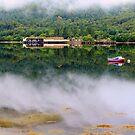 Misty   Loch Long    Argyll by Alexander Mcrobbie-Munro