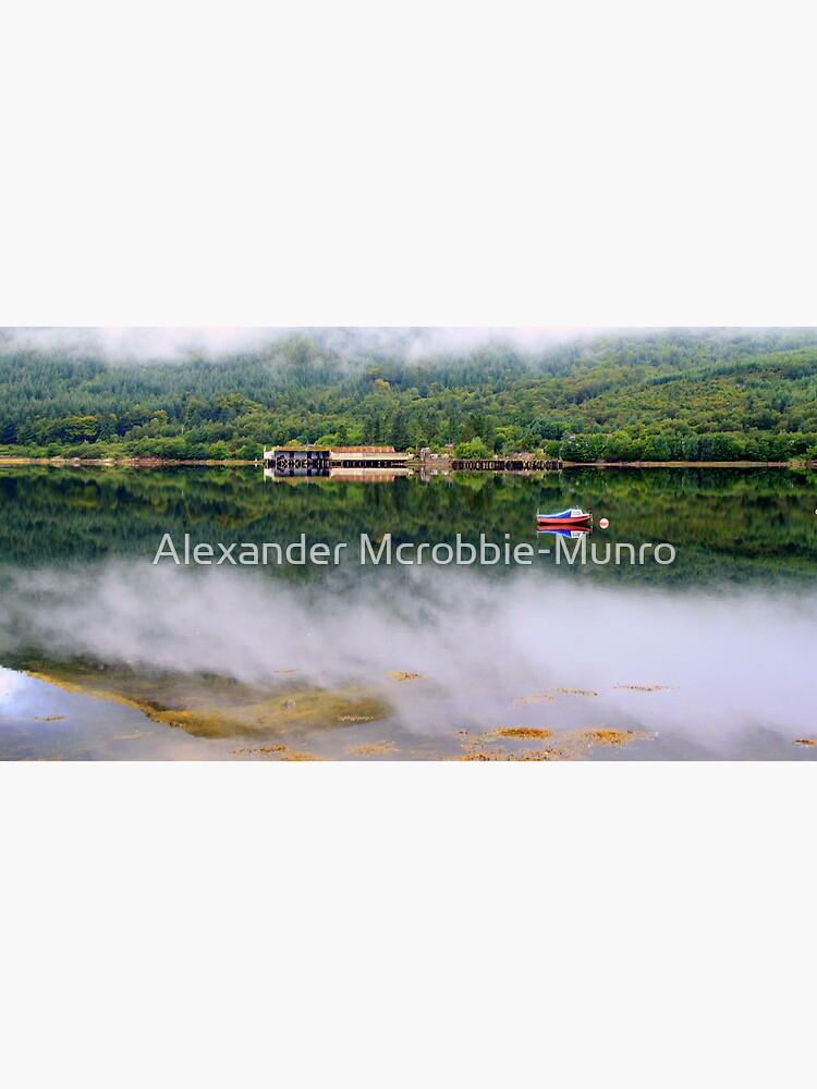 Misty   Loch Long    Argyll by Alexanderargyll