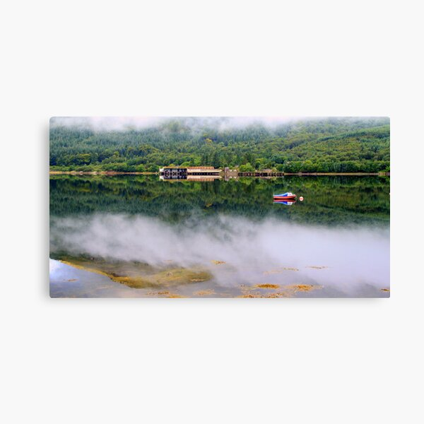 Misty   Loch Long    Argyll Canvas Print